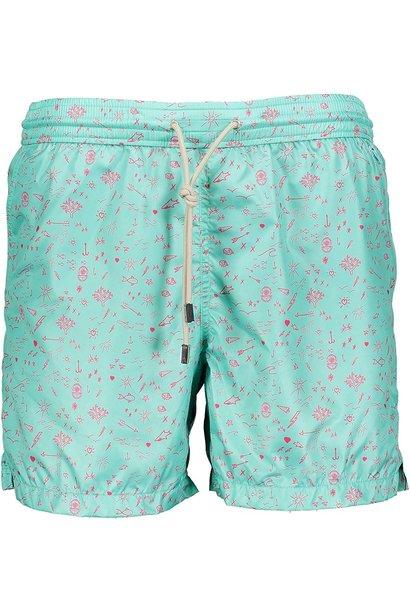 Men's Swim Shorts Oceano Mint