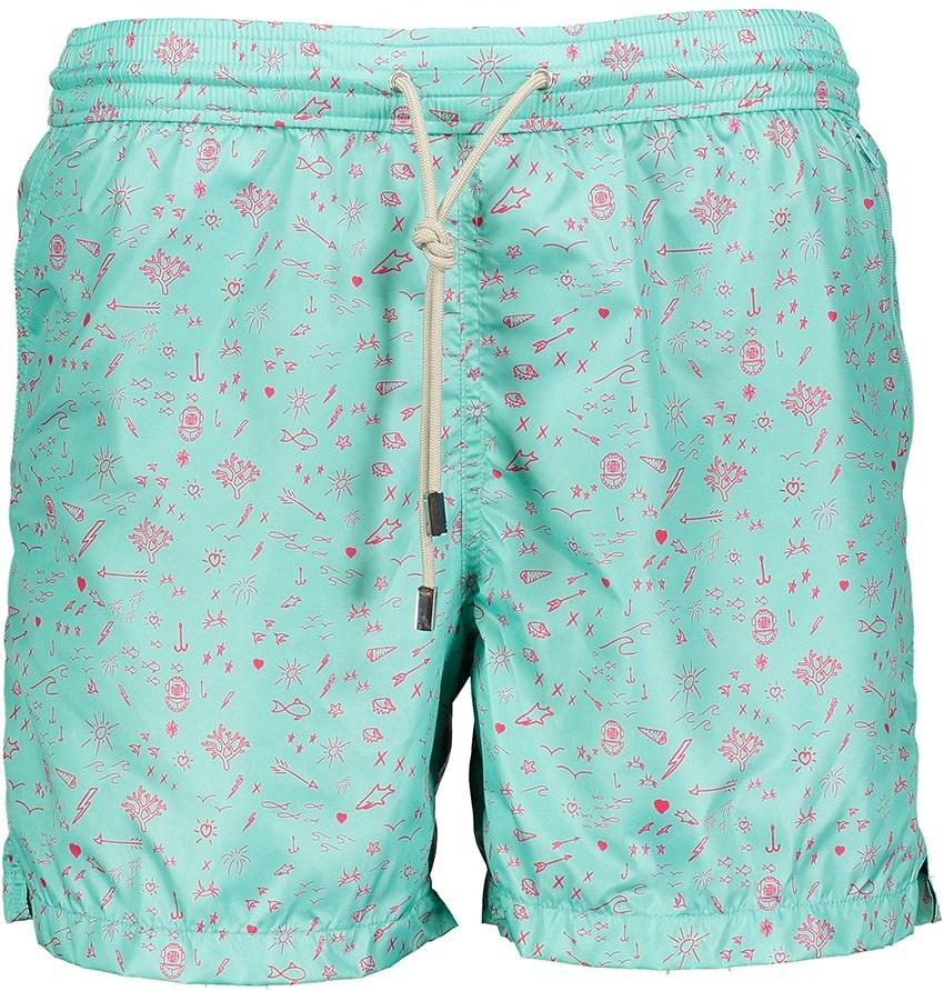 Men's Swim Shorts Oceano Mint-2