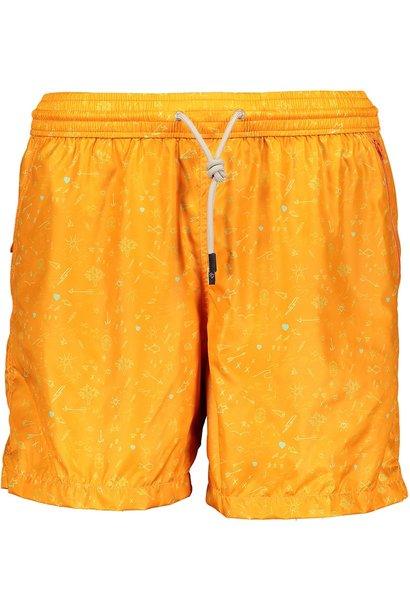 Badehose Herren Oceano Orange