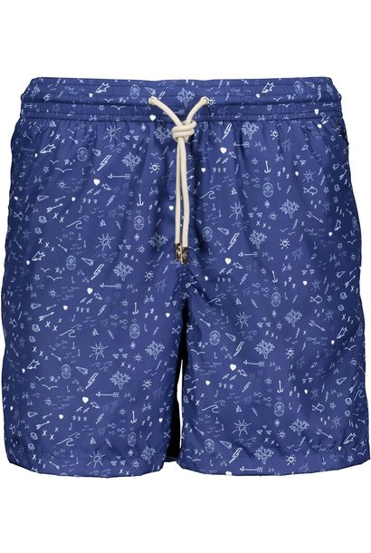 Men's Swim Shorts Oceano Blue