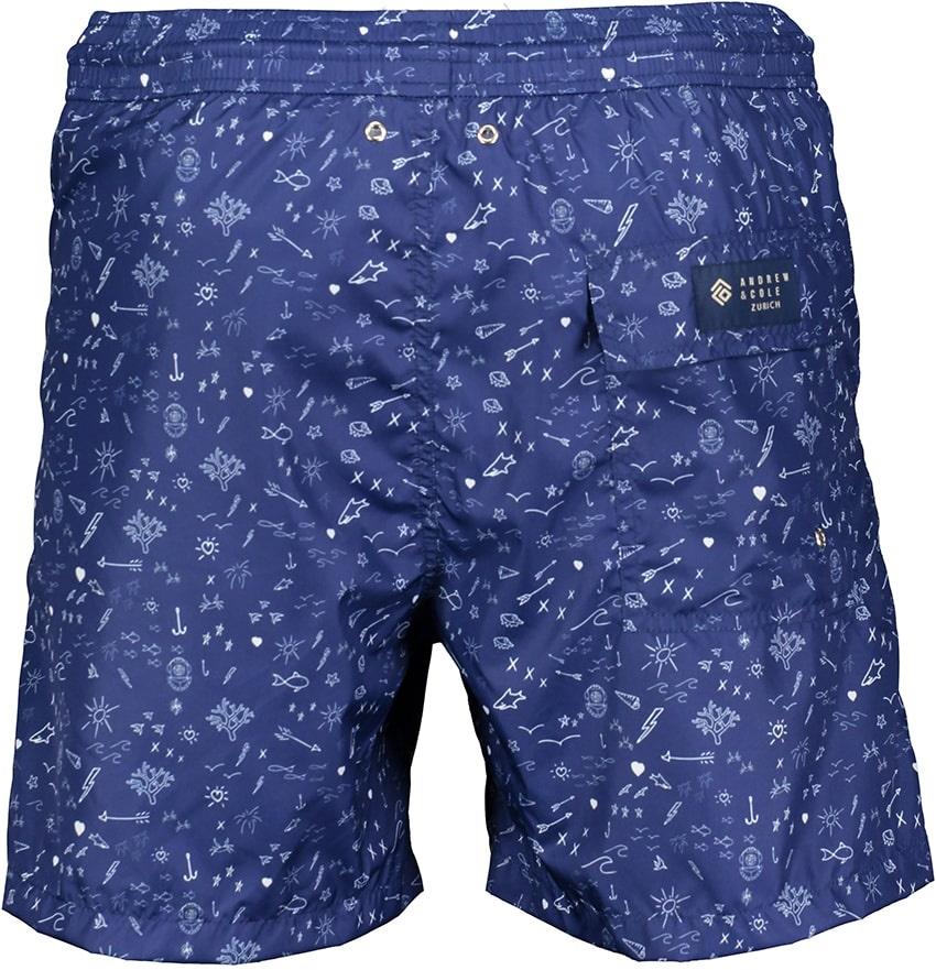 Badehose Herren Oceano Blau-3