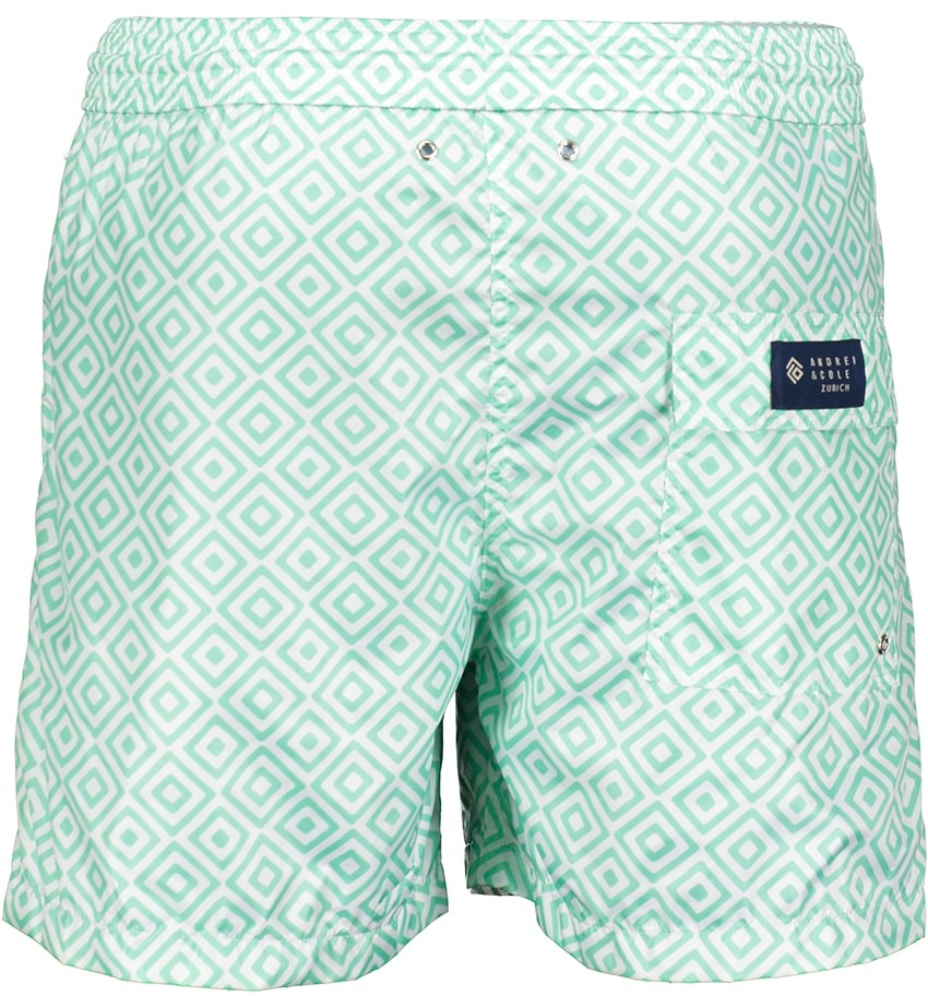 Men's Swim Shorts Diamante Mint-2