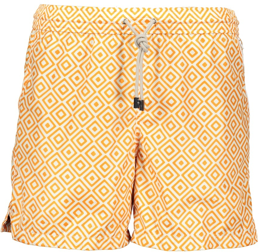 Badehose Herren Diamante Orange-2