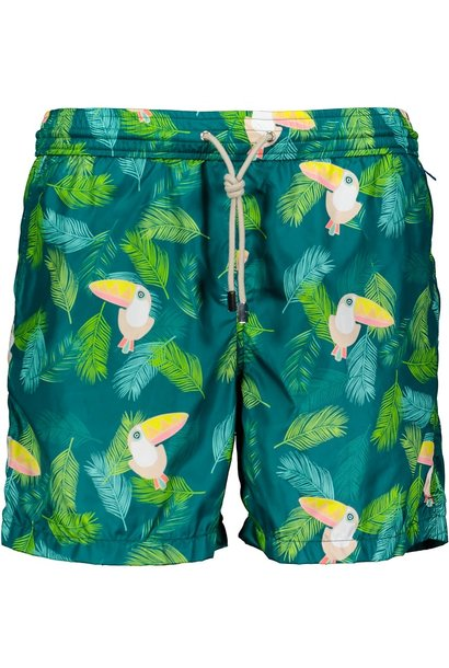 Men's Swim Shorts Tucano Green
