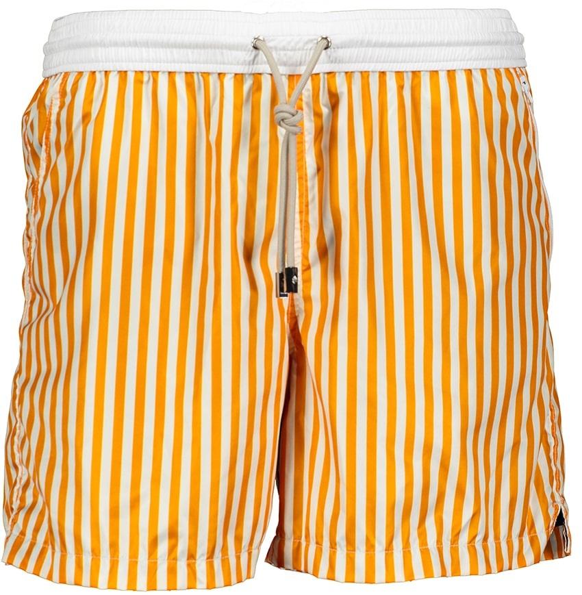 Badehose Herren Portofino Orange-2