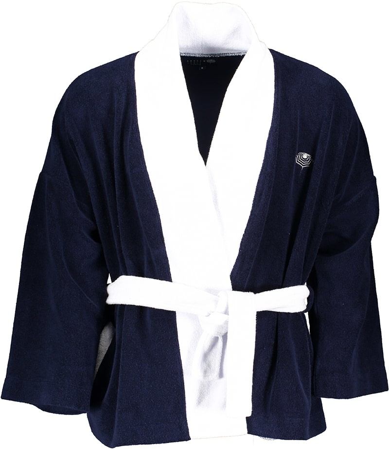 Men's Bathrobe Blue-2