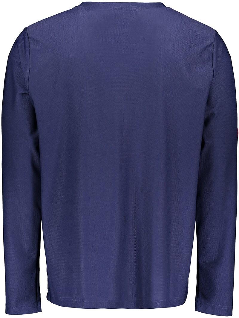 Men's Rash Vest Longsleeve Shirt Blue (ZURICH EDITION)-3