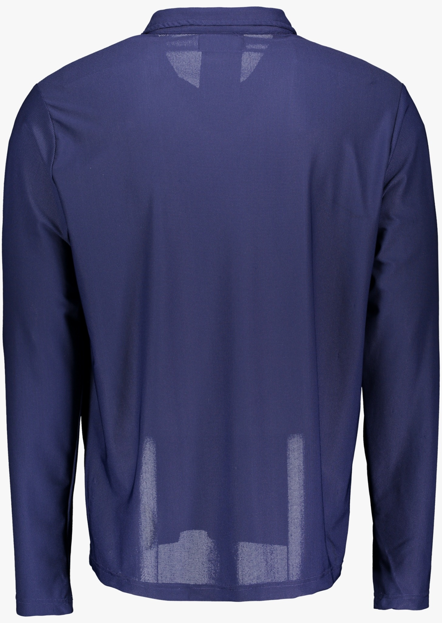 Men's UV Longsleeve  Collar-shirt blue (ZURICH EDITION)-3