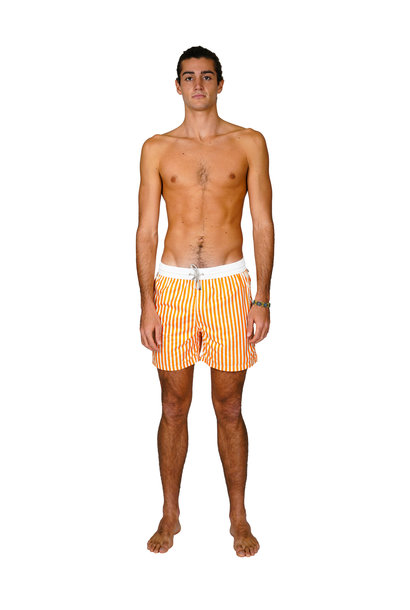Men's Swim Shorts Portofino Orange