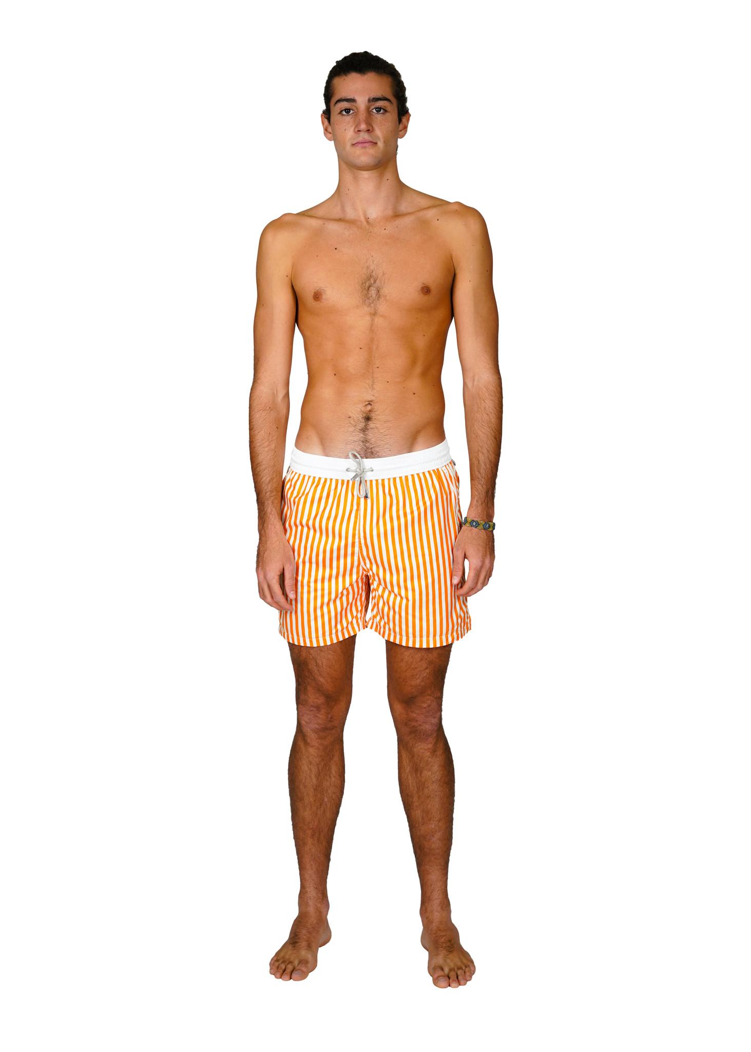 Badehose Herren Portofino Orange-1