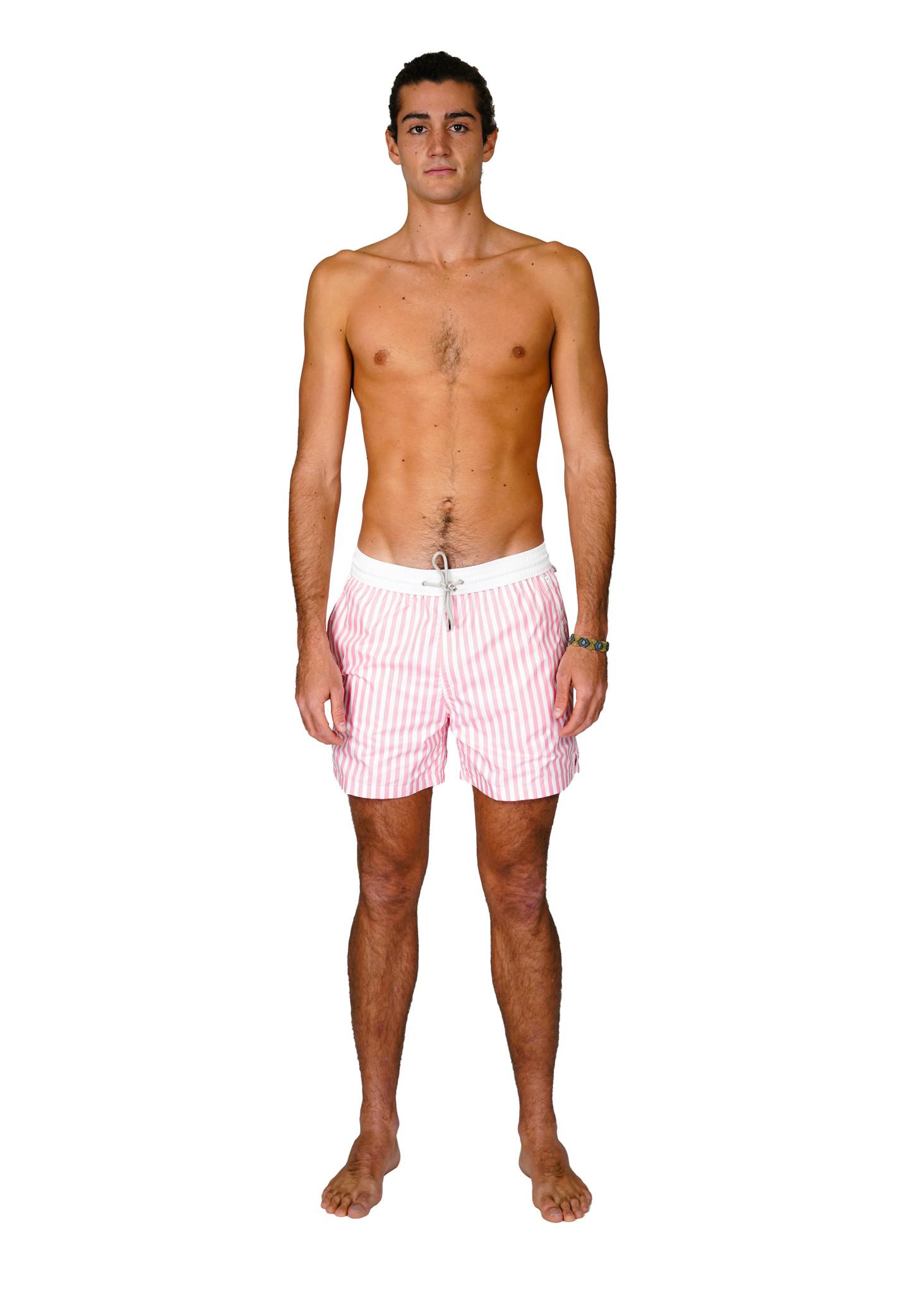 Men's Swim Shorts Portofino Pink-1