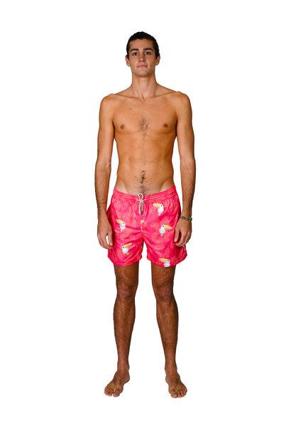 Men's Swim Shorts Tucano Red