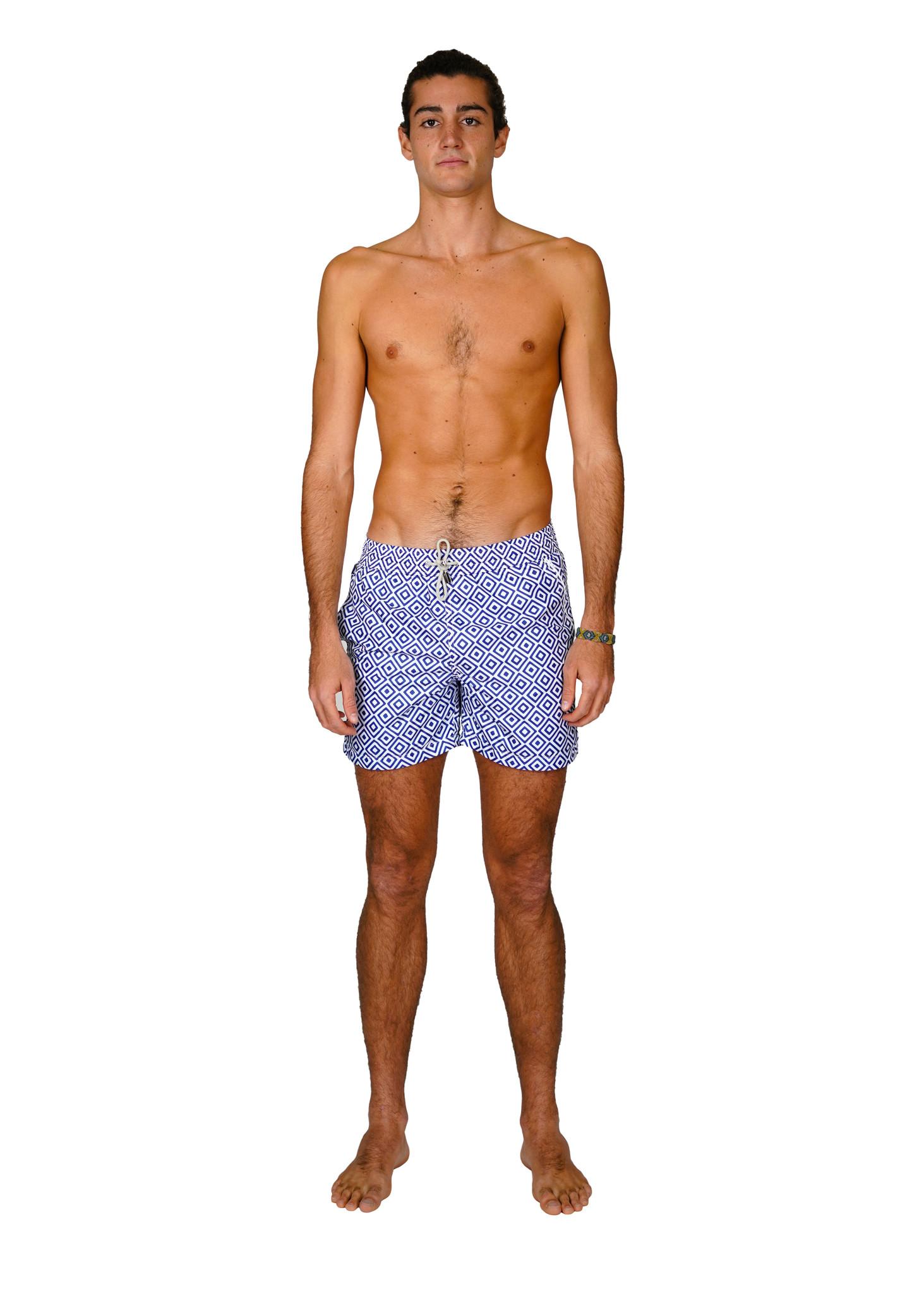 Men's Swim Shorts Diamante Blue-1