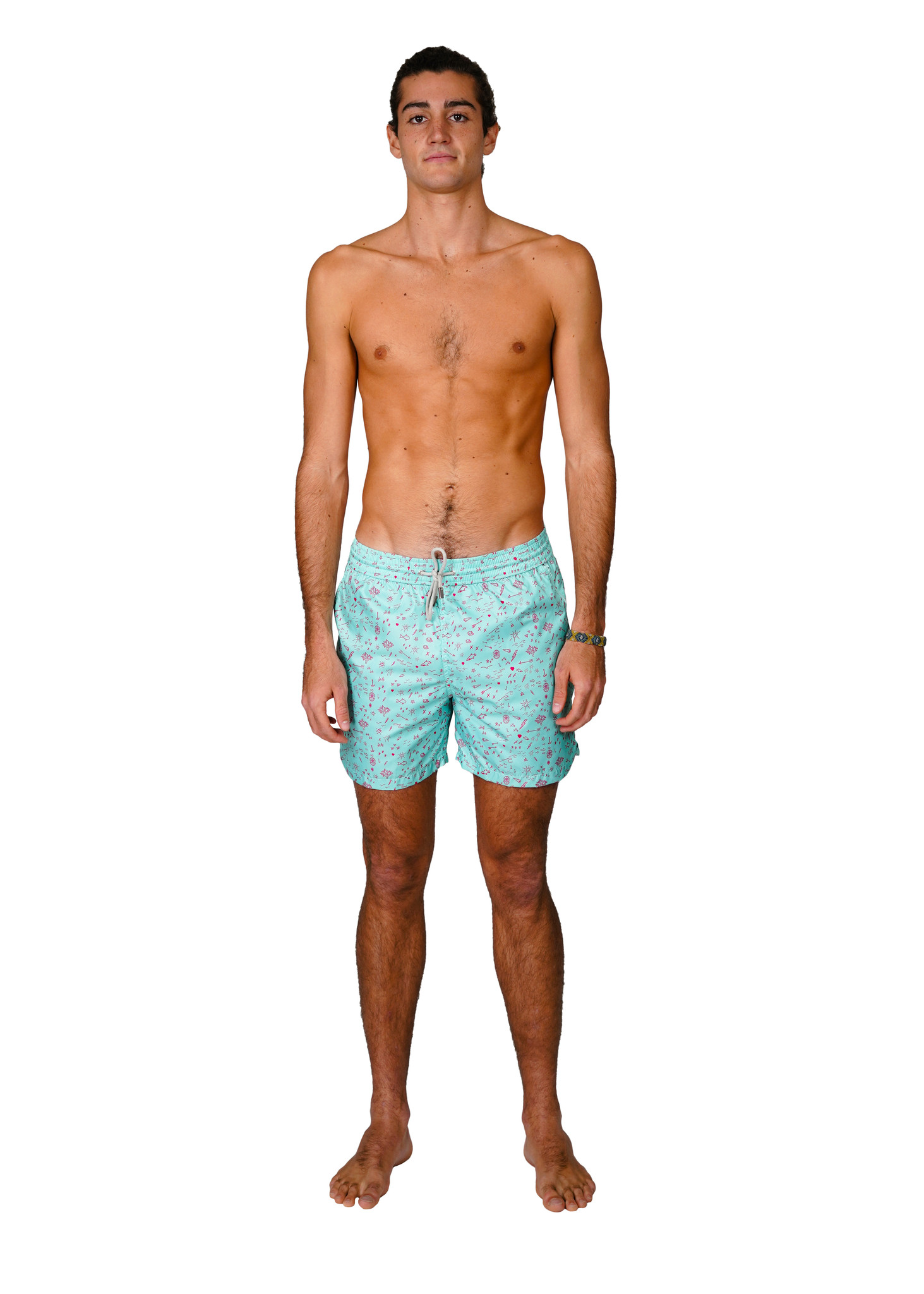 Men's Swim Shorts Oceano Mint-1
