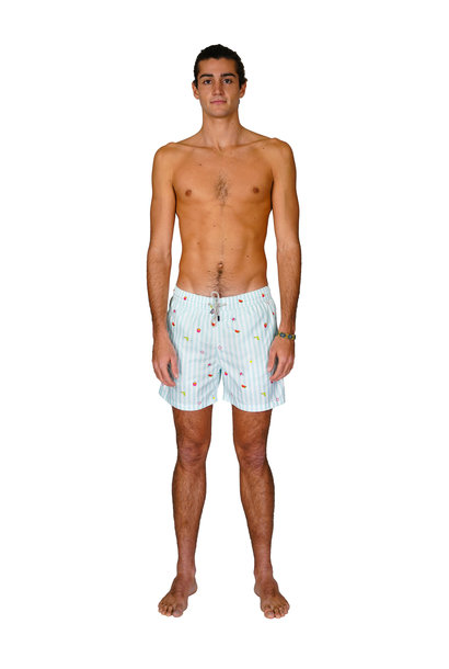 Men's Swim Shorts Badi Edition Light Blue