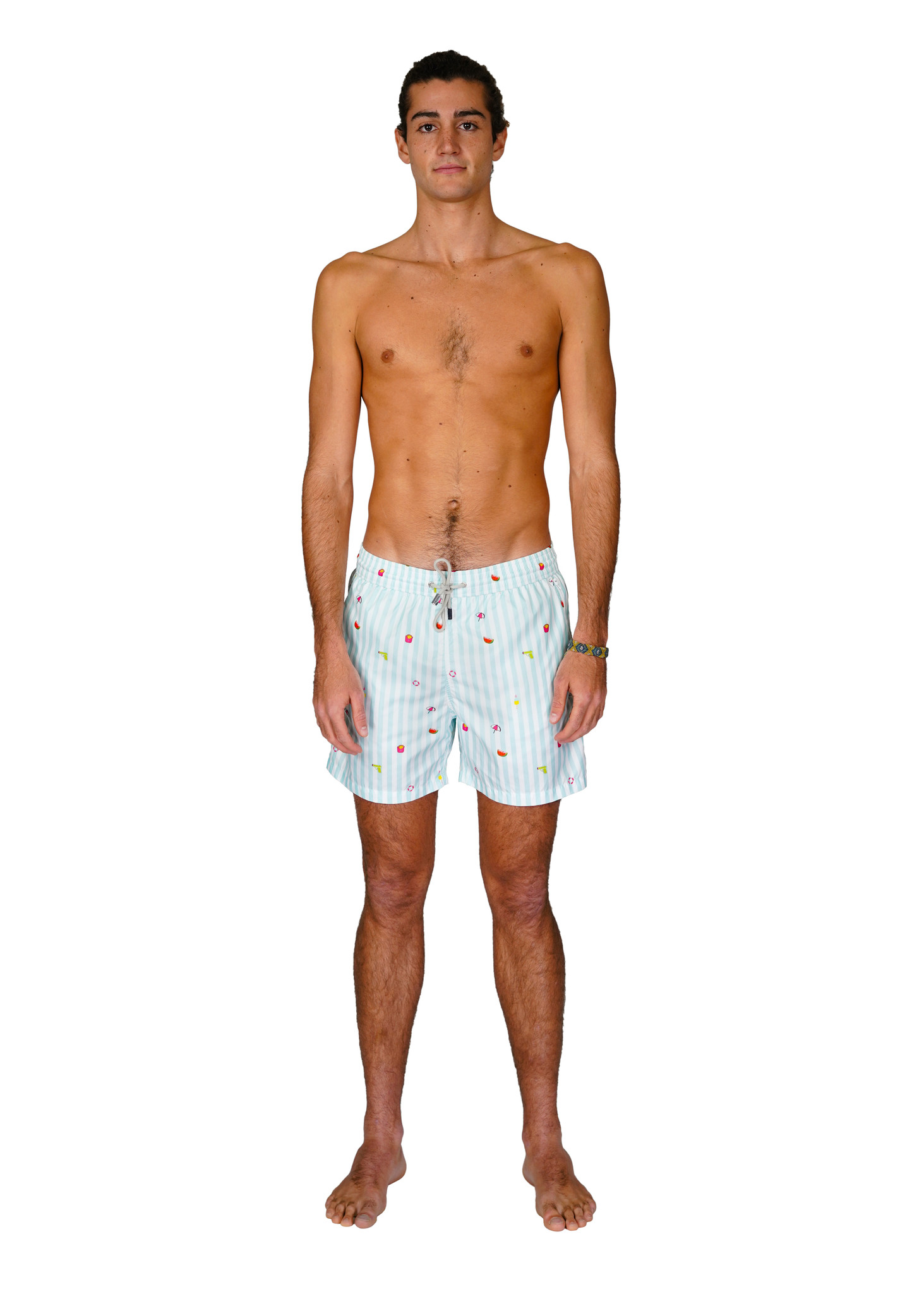 Men's Swim Shorts Badi Edition Light Blue-3