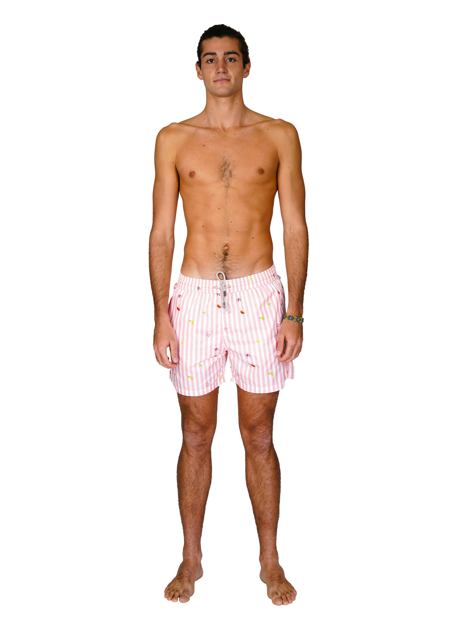 Men's Swim Shorts Badi Edition Pink-3