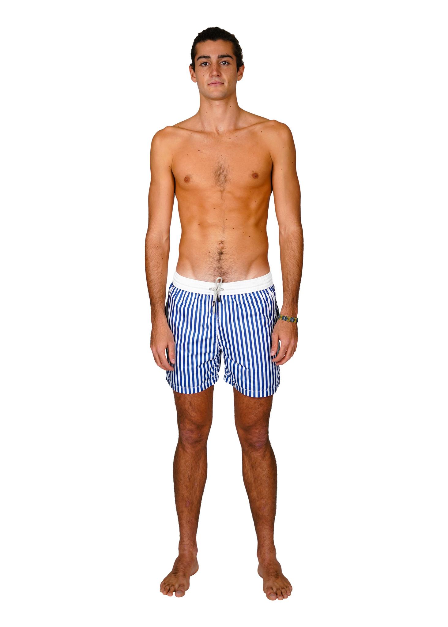 Badehose Herren  Portofino Blau-1