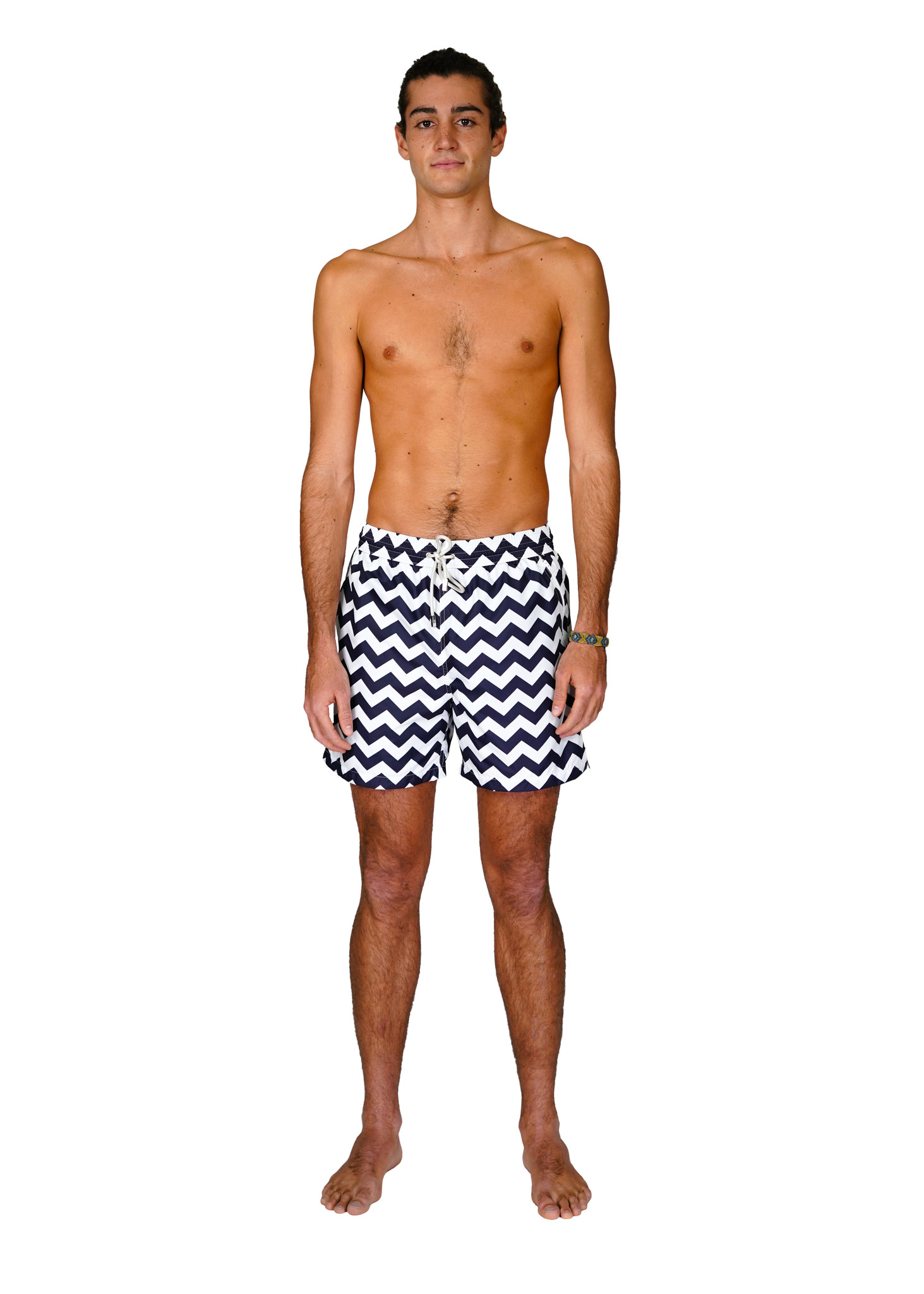 Men's Swim Shorts Wave Blue-1