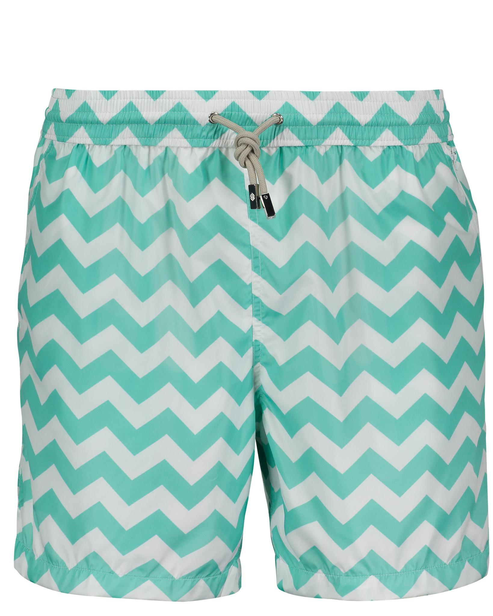 Men's Swim Shorts Wave Mint-2