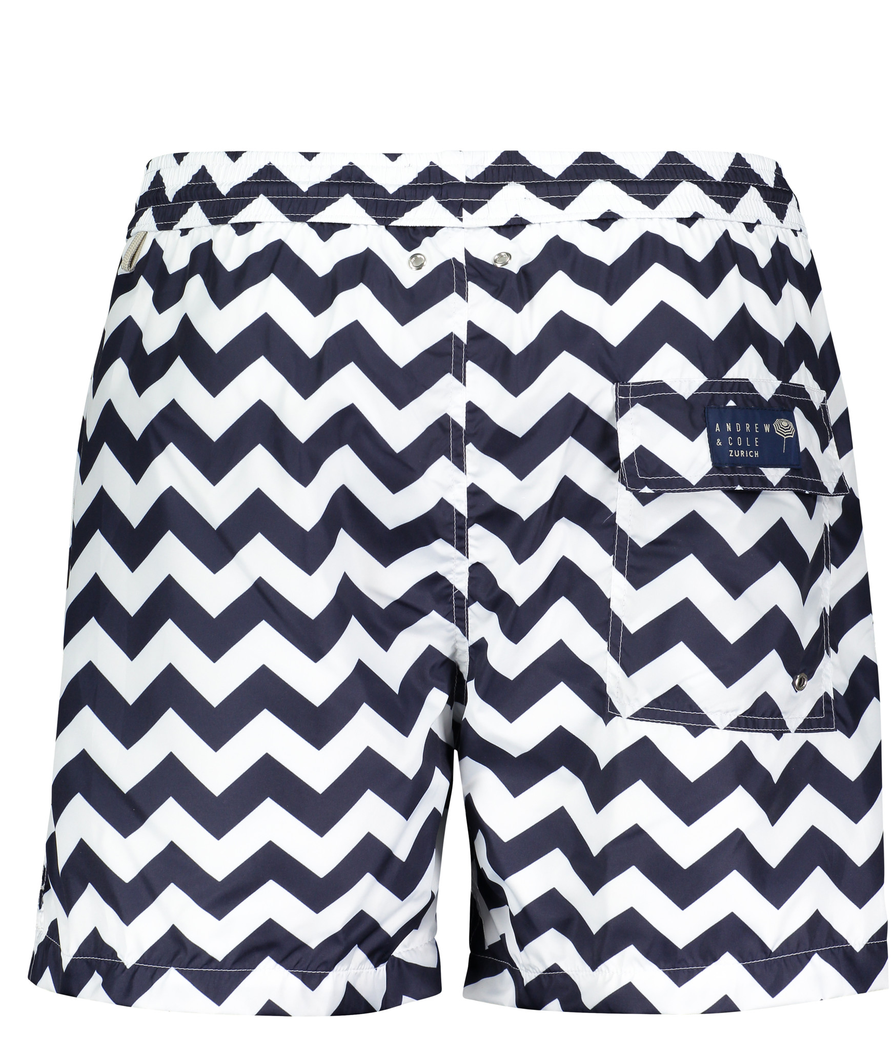 Men's Swim Shorts Wave Blue-3