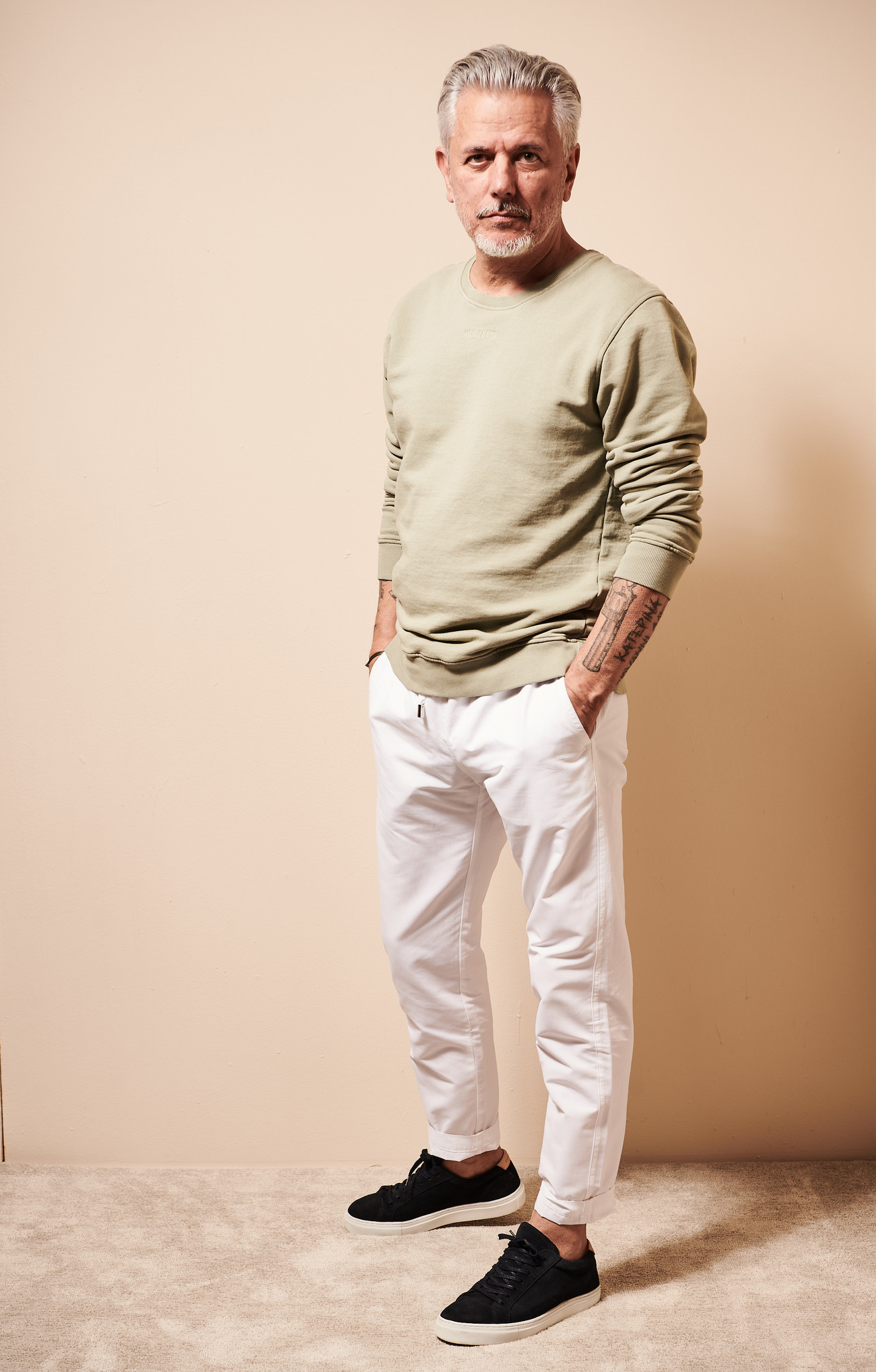 PULLOVER OLIVE-1