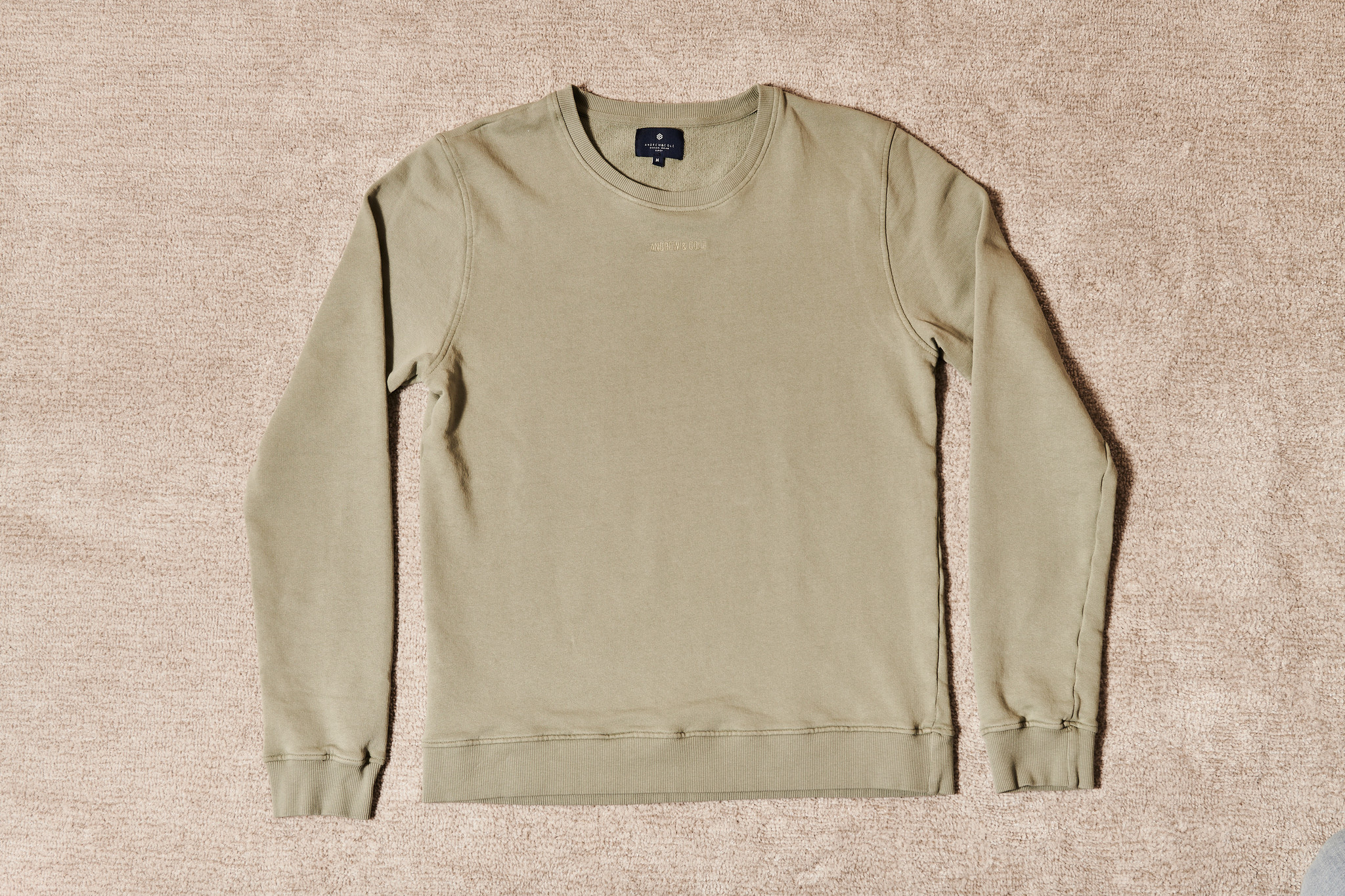 PULLOVER OLIVE-4