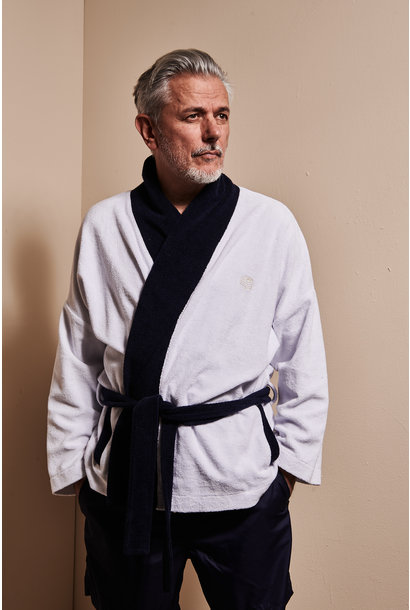 Men's Bathrobe White