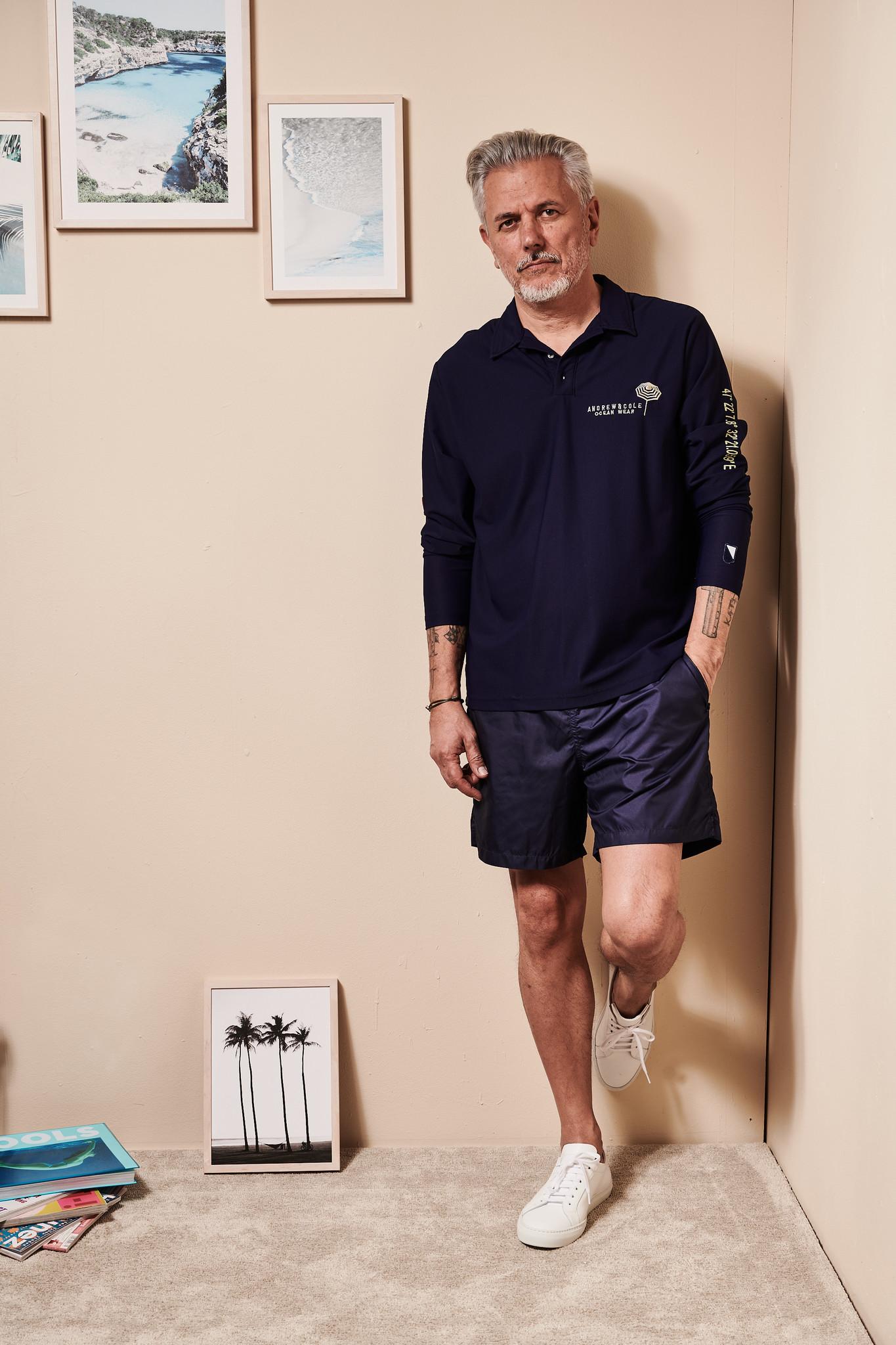 UV Langarm Kragen-Shirt Herren Weiss  (ZÜRICH EDITION)-1