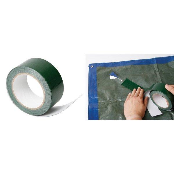 Reparatietape voor PE dekzeilen 50mm x 10 meter - Groen
