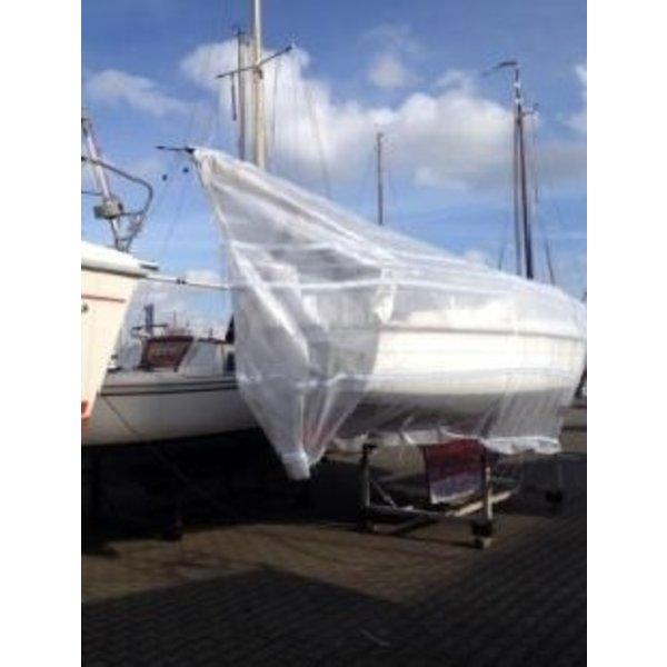 DEKZEIL PE-PP 240 gr/m2 - Transparant 8 x 12 meter met UV (LDPE-PP) Coating
