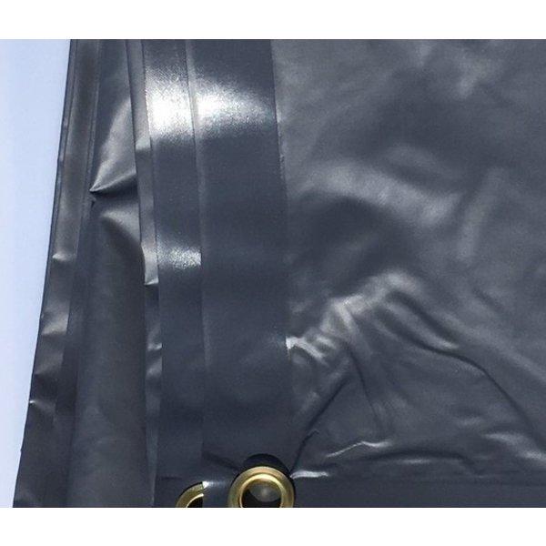 Sample van dekzeil 380gr/m2 - ca. 10x10 cm