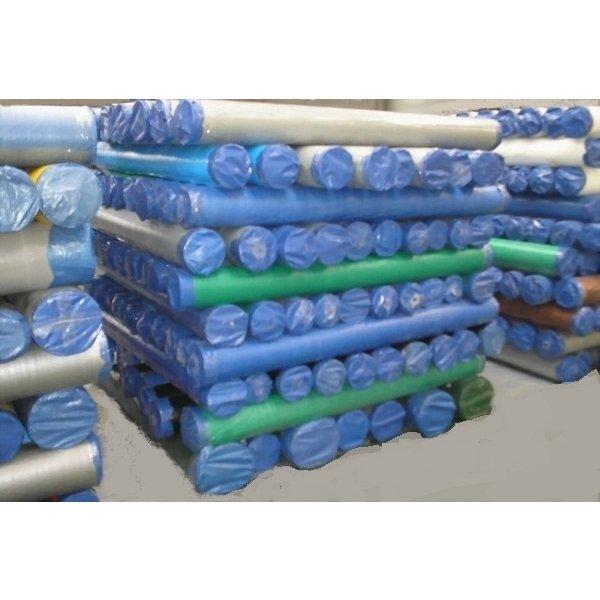PE geweven doek WIT - Basic 75gr/m2 rol 2x200 meter