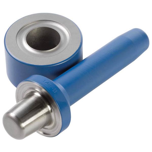 Verhuur: Stempel voor monteren zeilogen 18mm (9B)