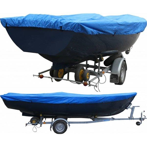Afdekzeil 600D Luxe 370 - 430 X 175 Blauw