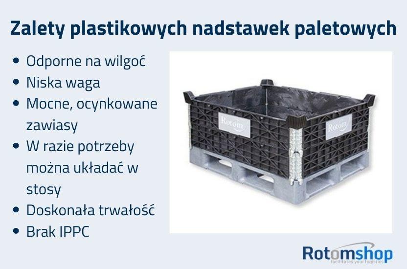 Zalety nadstawek plastikowych
