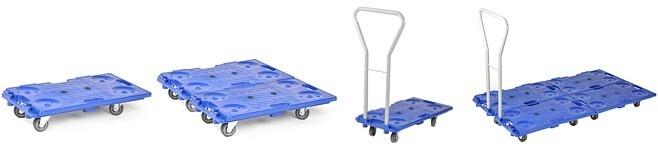 Wózek dolly łączony