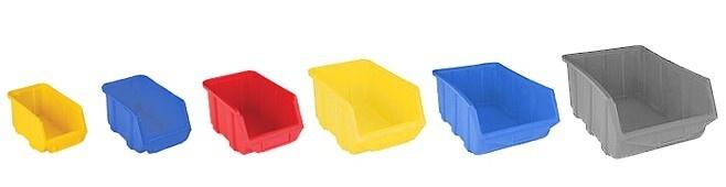 Kuwety plastikowe różne rozmiary i kolory