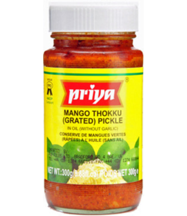 PRIYA MANGO THOKKU PICKLE 300 gm