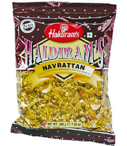 Haldiram Salted Navrattan Mix 200 gm