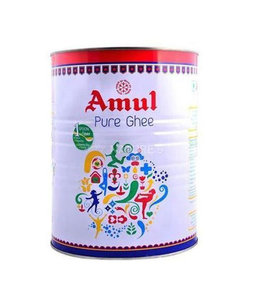 AMUL PURE BUTTER GHEE TIN 1kg.