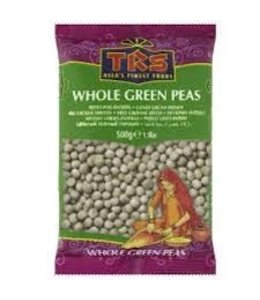 TRS Whole GREEN PEAS (Mutter) 500 gm
