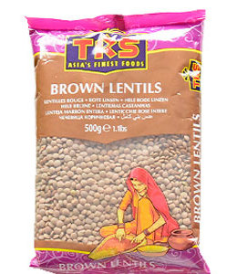 TRS BROWN MASOOR WHOLE 500 gm