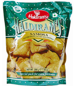 Haldiram VEGETABLE SAMOSA 200 gm