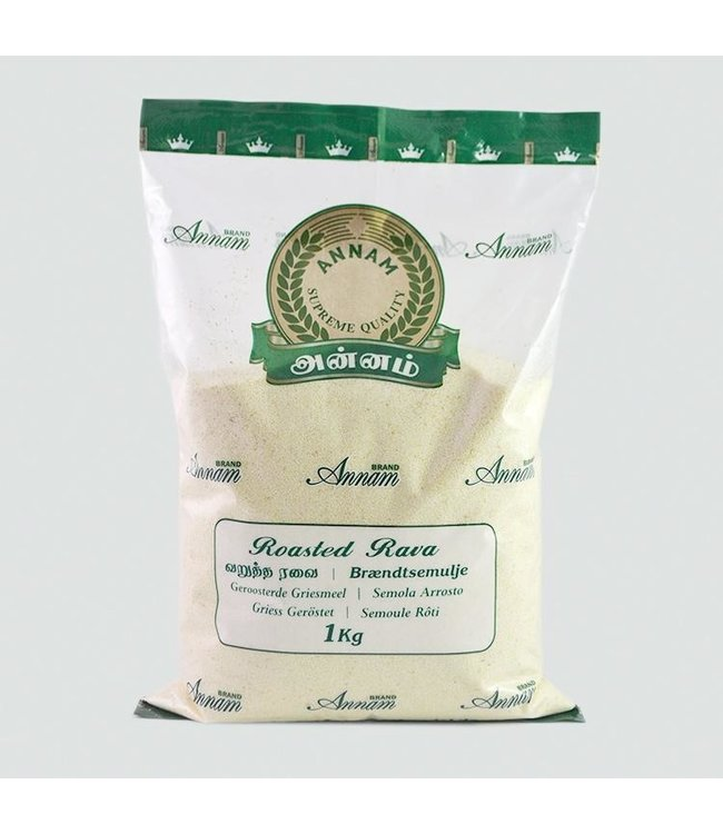 ANNAM Roasted RAWA (SUJI) 1 kg