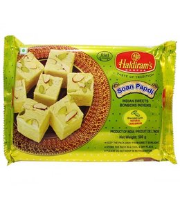 Haldiram Vegetable Ghee Soan Papdi 500 gm