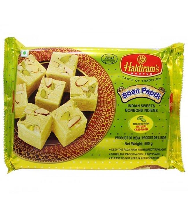 Haldiram Vegetable Ghee Soan Papdi 500 gm