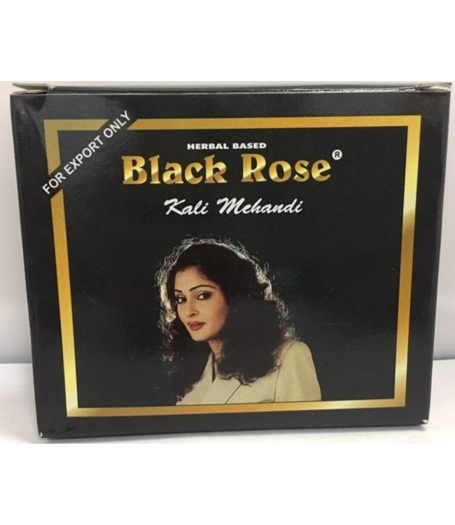 BLACK ROSE BLACK ROSE Black Henna Powder 10 x 50 gm (standard)