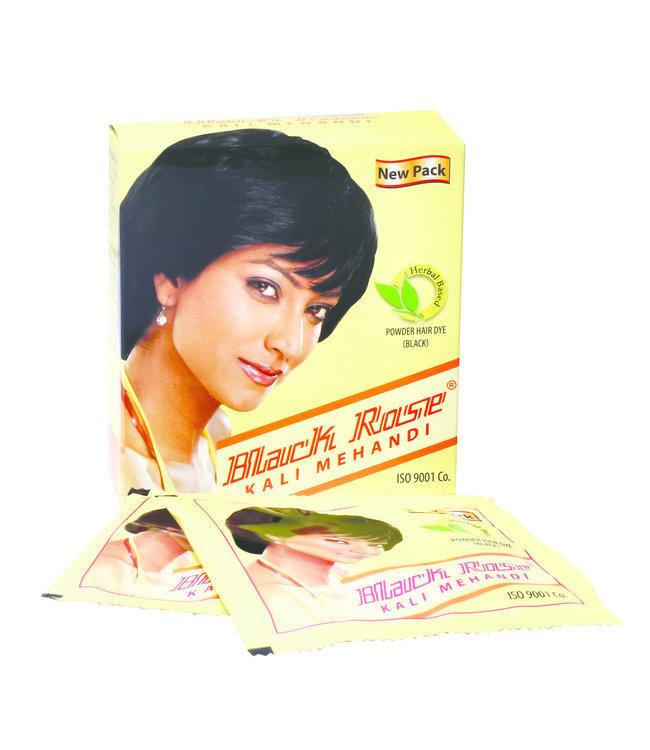 BLACK ROSE BLACK ROSE Herbal Black Henna Powder 10 x 50gm (yellow)