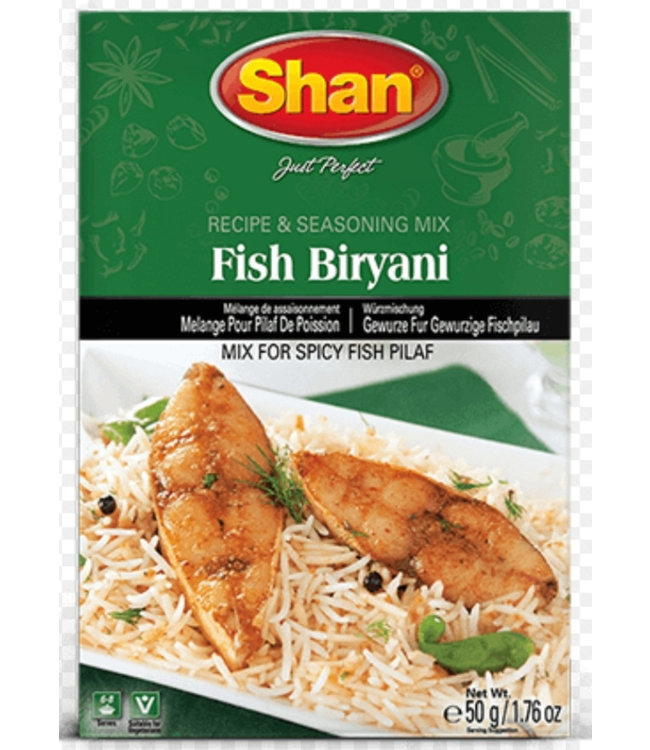 SHAN Fish Biryani 50gm